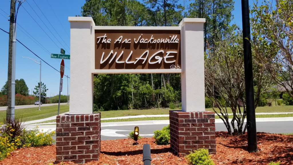 The Arc Jacksonville Village Sign
