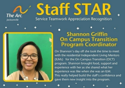 Shannon Staff STAR