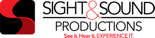 sight and sound productions logos