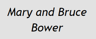 Mary and Bruce Bower