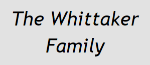 The Whittaker Family
