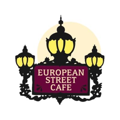 European Street Cafe Logo